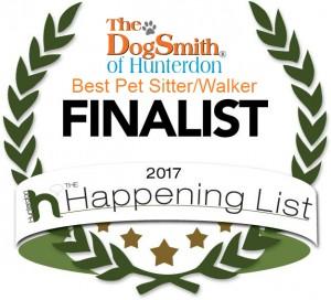 Finalist 2017 DS Hunterdon _ Pet Sitter and Walker2017